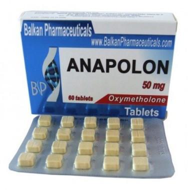 Anapolon Анаполон 50 мг, 100 таблеток, Balkan Pharmaceuticals в Таразе