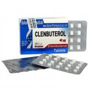 Clenbuterol Кленбутерол 40 мкг, 100 таблеток, Balkan Pharmaceuticals