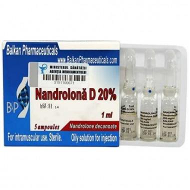 Nandrolona D 20% Нандролон Деканоат 200 мг/мл, 10 ампул, Balkan Pharmaceuticals в Таразе