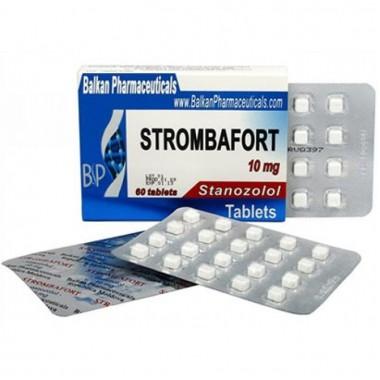 Strombafort Стромбафорт 10 мг, 100 таблеток, Balkan Pharmaceuticals в Таразе