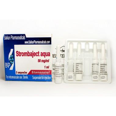 Strombaject aqua Стромбаджект аква 50 мг/мл, 10 ампул, Balkan Pharmaceuticals в Таразе