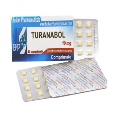 Turanabol Туринабол 10 мг, 100 таблеток, Balkan Pharmaceuticals в Таразе