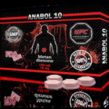 ANABOL 10 Анабол Метан Метандиенон 10 мг, 100 таблеток, UFC PHARM в Таразе