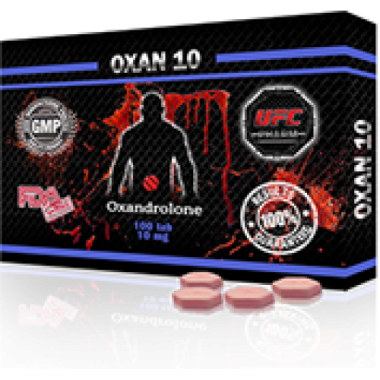 OXAN 10 Оксандролон 10 мг, 100 таблеток, UFC PHARM в Таразе