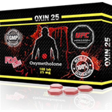 OXIN 25 Оксиметолон 25 мг, 100 таблеток, UFC PHARM в Таразе