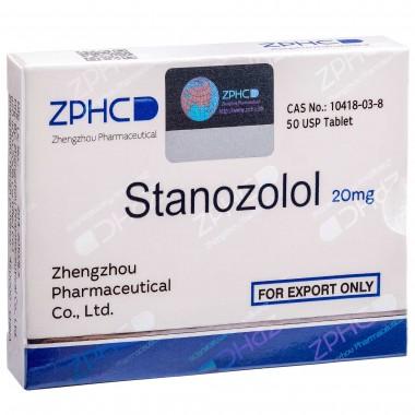 Stanozolol Станозолол оральный 20 мг, 50 таблеток, ZPHC в Таразе
