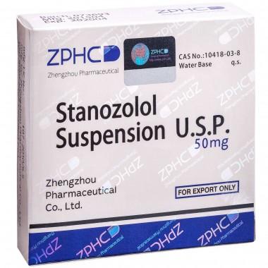 Stanozolol Suspension Станозолол суспензия 50 мг, 10 ампул, ZPHC в Таразе