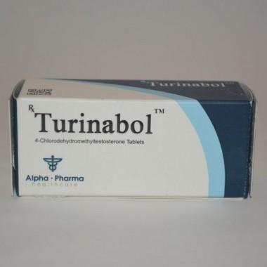 Turinabol (Туринабол) Alpha Pharma 50 таблеток (1таб 10 мг) в Таразе